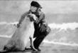 """Personaggi montesi: il capitano Onofrio ed il cane """"Meza Recchia""""; una storia d'amore e fedeltà"""