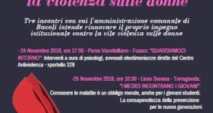 BACOLI. Giornata mondiale contro la violenza sulle donne 24-25 Novembre 2019