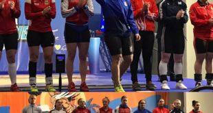 Nasce una stella montese nello sport europeo. Fabiana Scotto di Uccio nel sollevamento pesi. Video e Foto.