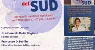 Bacoli. LE COLPE DEL SUD. Sabato presentazione a Villa Cerillo del libro di Claudio Scamardella