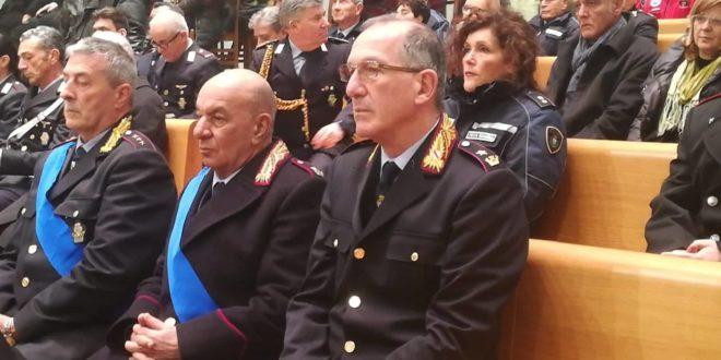 Celebrato nella cattedrale del Rione Terra San Sebastiano patrono della Polizia Municipale