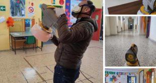 Bacoli. Iniziata la sanificazione ed igienizzazione straordinaria delle le scuole e edifici comunali.