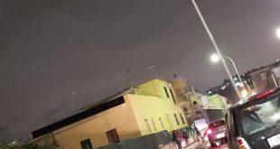 Vento forte. Danni in tutta la zona flegrea a Torregaveta e Fusaro abbattuti pali della luce e cartelli stradali
