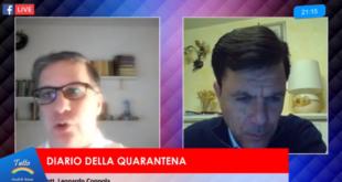 Il Diario della Quarantena, il video della terza puntata andata in onda ieri sera 25 marzo 2020