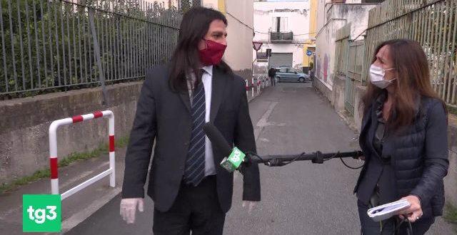 La Rai a Bacoli un modello di solidarietà tg3 con il sindaco Della Ragione. Video