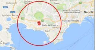 Terremoto nella notte. Paura aPozzuolieNapoli scossa di 2.9 a profondità di soli 2 chilometri.