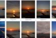 Le foto di Luisa Lubrano, anche a maggio la magia e lo spettacolo dei tramonti di Acquamorta