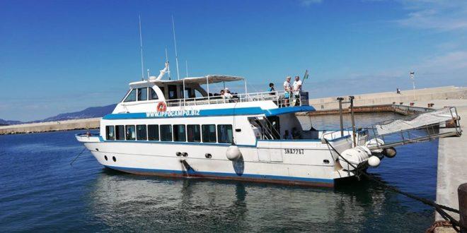 Acquamorta. Torneranno le corse della nave Ippocampo per Procida e Ischia con una bella sorpresa.