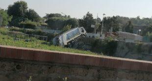 Incidente in via Cuma, al momento è stata chiusa via Arco Felice vecchio