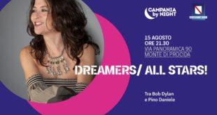 Concerto di ferragosto a Montegrillo: Dreamers/ All Stars! Evento gratuito con prenotazione obbligatoria
