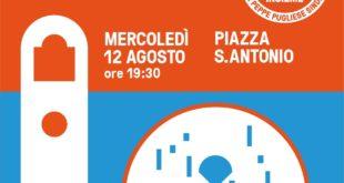 Sì Insieme. Appuntamento domani 12 agosto a Piazza Sant'Antonio per il secondo incontro pubblico