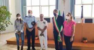 L'Ammiraglio Serra in visita a Monte di Procida, la soddisfazione del Sindaco Pugliese