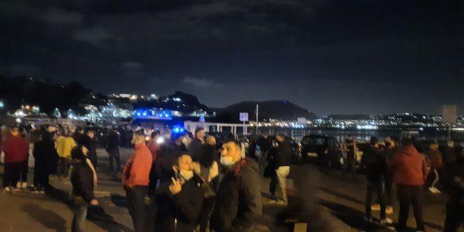 Video. La manifestazione di Baia. Ristoratori e commercianti. Interviste