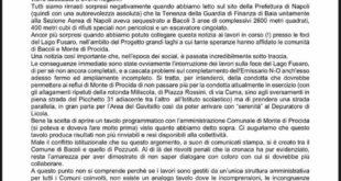PD BACOLI. IL 2020 SI CONCLUDE CON BRUTTE NUBI ALL'ORIZZONTE.