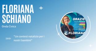 Floriana Schiano (Onda Civica) presenta il contest natalizio