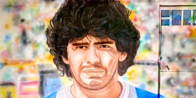 Bacoli avrà un murale per  Diego Maradona.