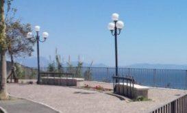 Incidente stradale in via Panoramica a Monte di Procida.