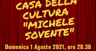 APERTURA CASA DELLA CULTURA MICHELE SOVENTE.