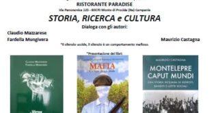 Venerdì 10 Settembre al RISTORANTE PARADISE STORIA, RICERCA e CULTURA