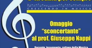 """L'Arcadia per sempre – Omaggio """"sconcertante al Prof. Giuseppe Nappi"""